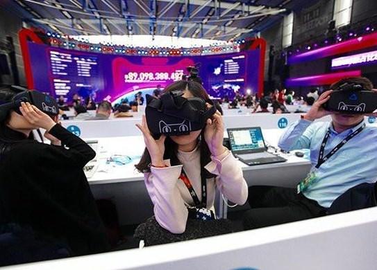VR、AR购物
