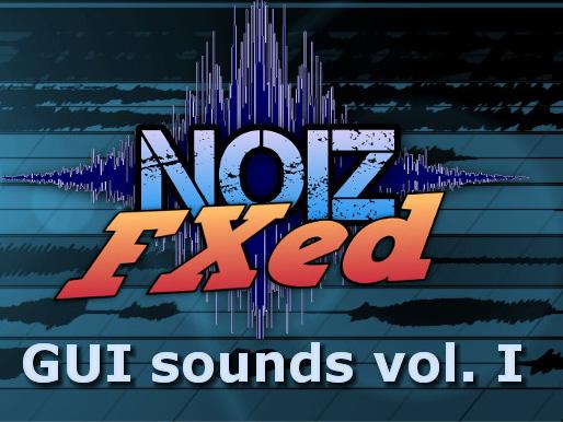 GUI Sounds Vol I