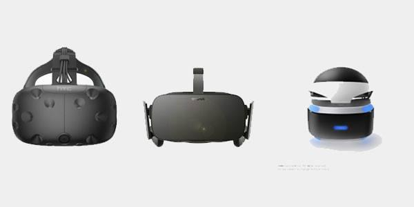VR三大头显