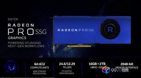 Adobe将原生支持AMD Radeon Pro SSG