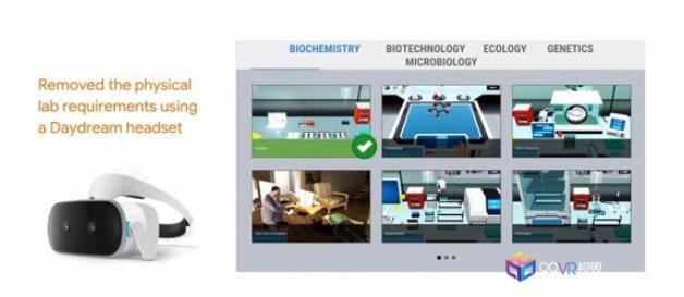 Google进军教育将推出远程虚拟现实实验室