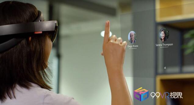 微软展示WMR和HoloLens新特性