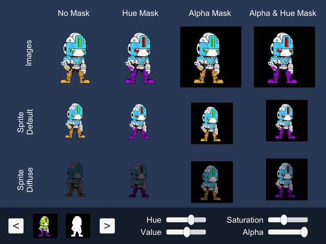 Color Shift shader