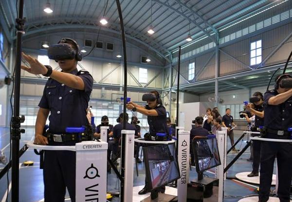 VR/AR/AI赋能警员