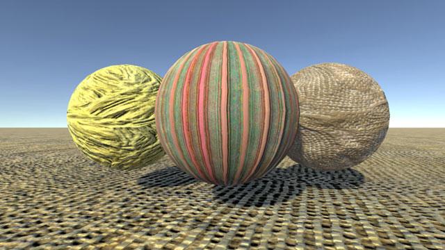 VR Fabrics Materials