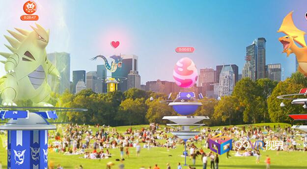 AR游戏《Pokemon Go》两年营收已达18亿美元