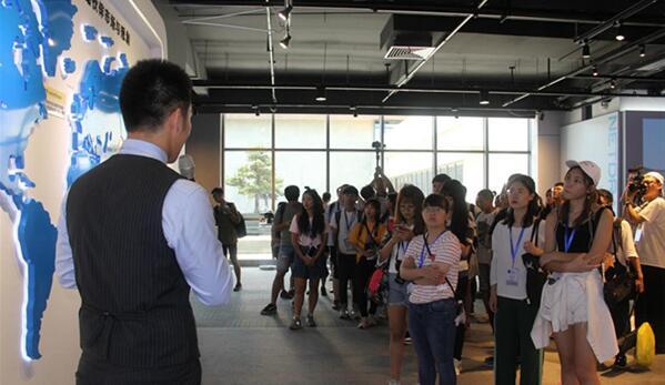 两岸学子参访网龙网络公司
