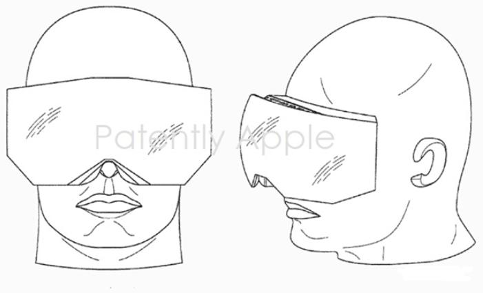 苹果新AR/VR头显专利曝光