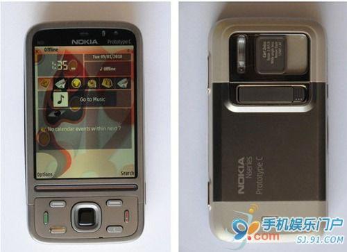 诺基亚N87原型机曝光