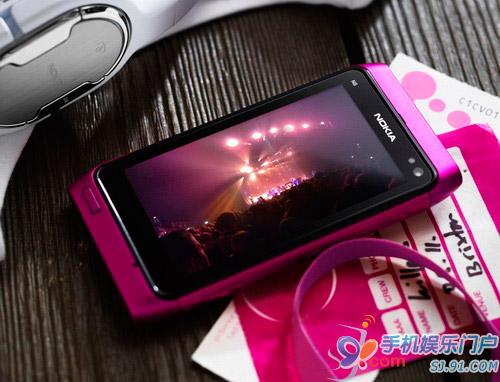 N8粉色版发布 搭载最新Symbian Anna系统