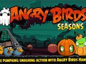 愤怒的小鸟万圣节Android版更新 新鸟加入