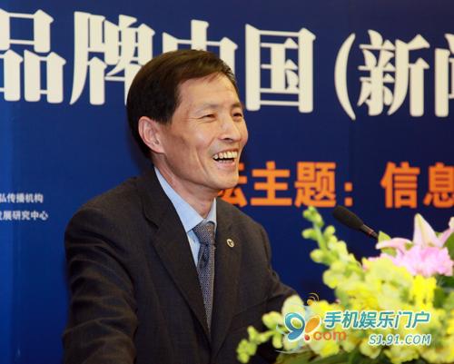 品牌中国产业联盟执行副主席郑砚农
